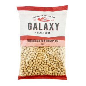 Galaxy Chickpeas Raw 1 kg