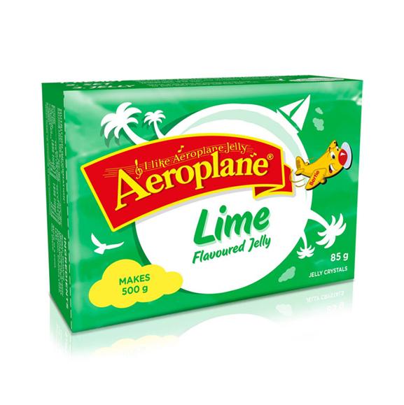 Aeroplane Jelly  Lime 85g