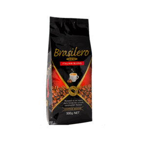 Brasilero  Italian Blend Coffee Ground  1kg