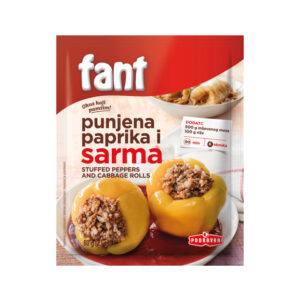 FANT Stuffed Peppers & Cabbage Rolls  60g