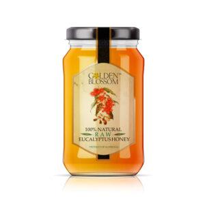 GOLDEN BLOOSOM Raw Eucalyptus Honey  1kg