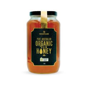 HONEYCUBE Organic Raw Honey  1kg