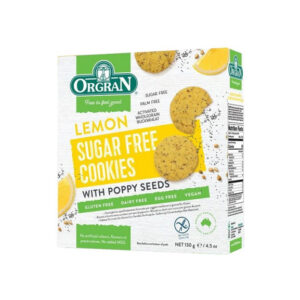 Lemon Sugar Free Cookies 130g