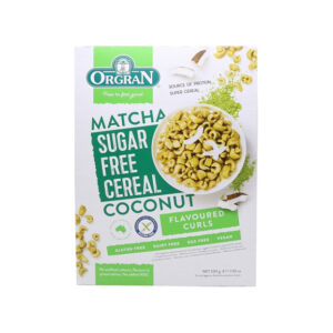Matcha & Coconut cereal 200g
