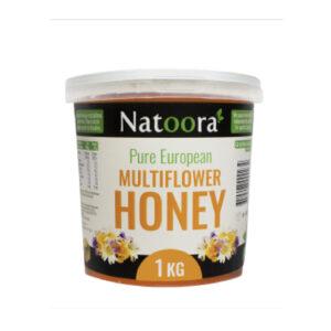 NATOORA Multiflower Honey  500g