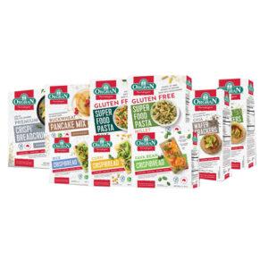 Oragan Pasta ( Vegetable Rice/ Rice Spirals/ Quinoa Penne/ Quinoa Spirals/ Buckwheat/  Rice & Corn Penne/ Corn & Vegetable Shells)  250g