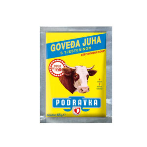 PODRAVKA  Beef Noodle Soup 65g