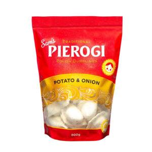 SAM'S Pierogi Potato Onion 800g