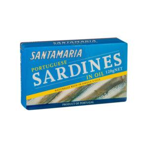 SANTAMARIA Sardines ( in Hot Sauce/in Tomato Sauce/in Oil/in Olive oil) 120g