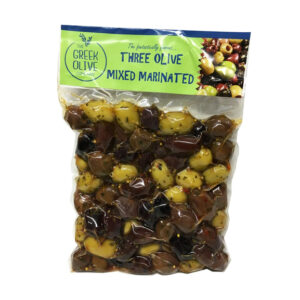 THE GREEK OLIVE Mixed Marinated Olives 500g