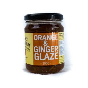 UNCLE'S SMALLGOODS  Orange & Ginger Glage  290g