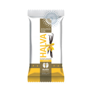ZOLOTOI VEK Sunflower Halwa Vanilla 550g